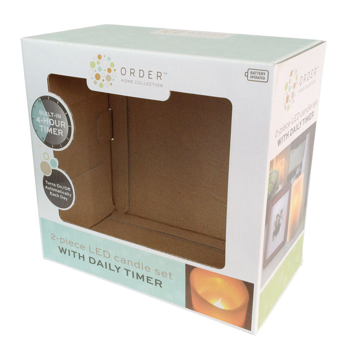 Corrugated Box For Candle
