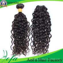 7A Grade 100% Unverarbeitete Reine Haar Menschliche Haareinschlagfaden