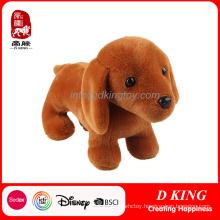 Brown Soft Dog Plush Toy Stuffed Animal