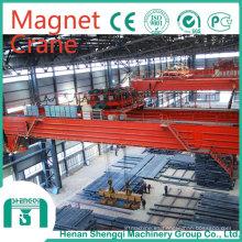 2016 Shengqi QC mecanografía el grúa de puente eléctrica del imán de 5-32 toneladas