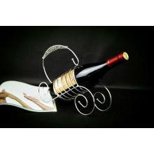 L-107 Piano-tipo hermoso, creativo más vendido alambre rack de vino
