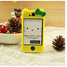 Hoyellow / Black / Blue High Quality Pc Hello Kitty Iphone 5 Protective Cases Cover For Iphone 5