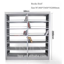estante de metal, estante de mobiliário escolar liabrary
