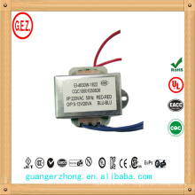 vente en gros EI série 230 v 9 v 1.5a dc transformateur