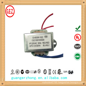 ei series 120v 5v 3a transformer
