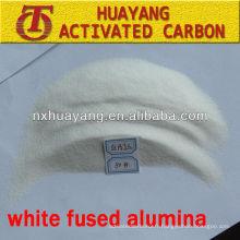 grain d'alumine fondu blanc pour couper l'acier inoxydable