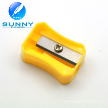 2015 Hot Sale Single Hole Plastic Pencil Sharpener for Kids