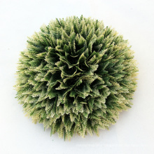 SGS certificated earth friendly artificial decorative moss balls for decks
