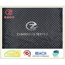 300t poli tafetá impressão triângulo, tecido de vestuário