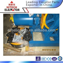 Machine de traction à engrenage pour ascenseur / charge YJ200-1000kgs