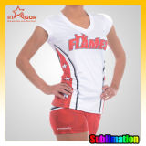 Polyester / Spandex Cheerleading Sportswear Quick Dry
