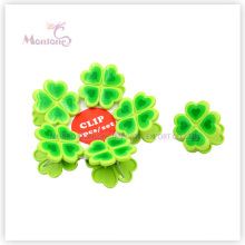 PP Plastic Clover Clothes Pegs Set of 6 (4.5*4.5cm)