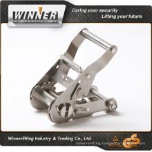 Amazon supply!! stainless steel webbing ratchet belt strap