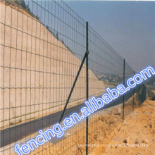 Road and Transit PVC/PE dipped coating Low carbon steel Euro fence
