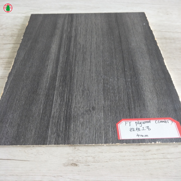 5 mm Drawing process melamine laminated plywood