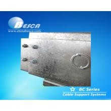 Feito na fabricação de China Wireway exterior galvanizada de alta qualidade