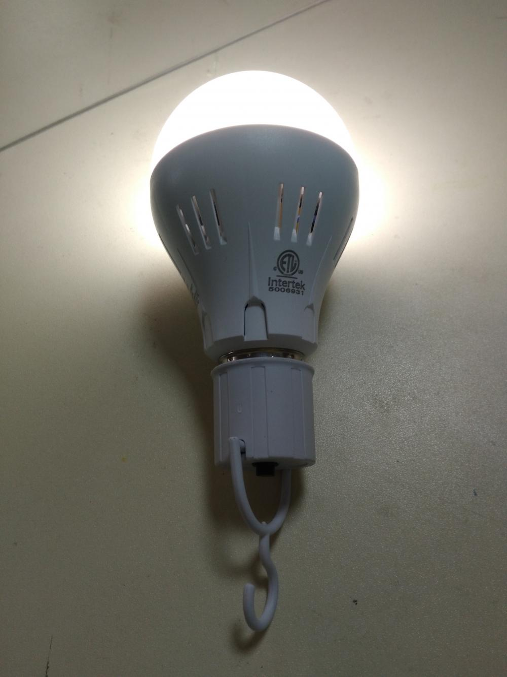 Emergency Light With LED Bulb