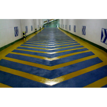 Mall pelampung cat lantai slip epoxy mortar