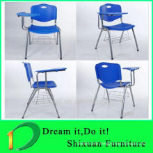 High quality metal comfortable plastic school chair