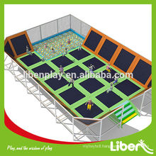 Large Kids Play Center Best Choice China Manufacturer Commercial Used Cheap Gymnastics park Trampolines for Sale LE.BC.057                                                     Quality Assured                                         Most Popular