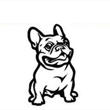 Self-adhesive Vehicle Decoration Dog Car Decals Sticker,Car Body Sticker Design