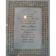 Cadeau de mariage diamant pur Photo Frame catégorie supérieure