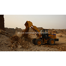 Penanganan SEM Wheel Loader Port Cargo