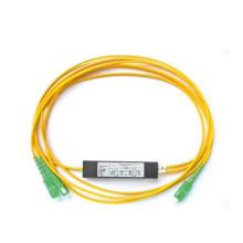 Divisor del PLC de la fibra óptica con el tipo de la inserción, 1x8 inserte el divisor óptico mini caja