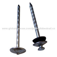 Umbrella Head Roofing Nails, Mainly Used for Building Construction, Packaging and Furniture