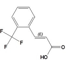 2- (Trifluoromethyl) Cinnamic Acid CAS No. 2062-26-2