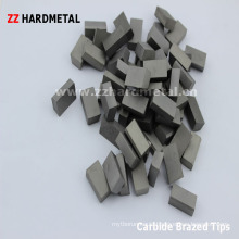 Tungsten Carbide Brazed Tips (E12)