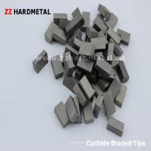Carboneto de tungstênio brasado dicas (E12)