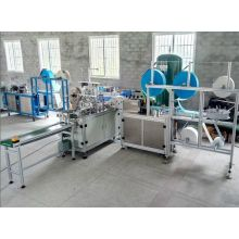 Full automatic disposable face mask make machine produces