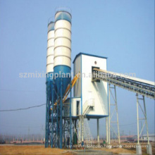 SZ brand HZS75 concrete batching plant new product concrete mixing plant export to Mongolia/Russia/Sri Lanka/Libya/Algeria