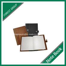 Caderno personalizado do negócio