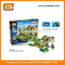 LOZ Robot kit de construction, loz moteur, science électrique enfants éducatif