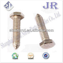 stainless steel hexagonal head self-tapping screw