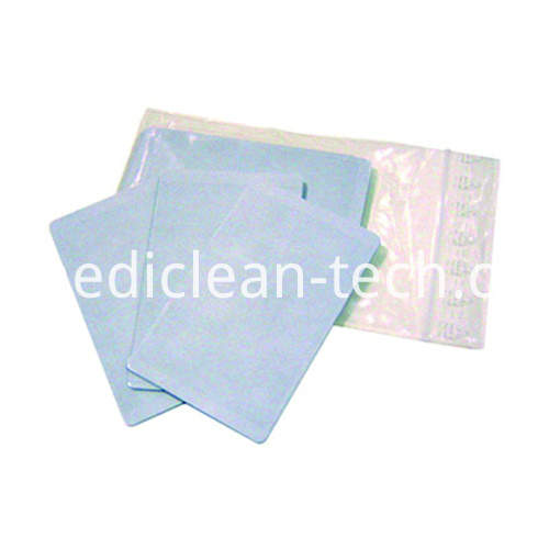 EDIsecure SP-X2087 Adhesive Cleaning Cards - Qty