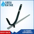 Barrera de techo de canoa para kayak