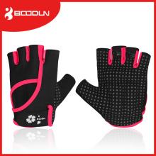 Mikrofaser Bodybuilding Finger Mädchen Crossfit Sport Handschuhe mit Flip Top