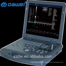 Máquina de ultrasonido Doppler color 2D profesional / escáner ultrasónico portátil de ecografía