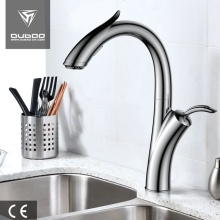 Luxurious Deck Mounted Pull-Out Kitchen Sink Faucet Mixer