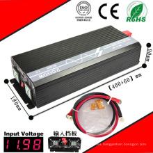 Inversor DC-AC de 2000W Inversor de onda sinusoidal pura de 12VDC / 24VDC a 110VAC / 220VAC