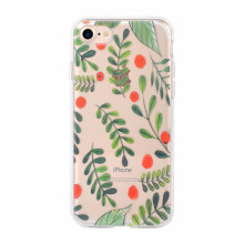 Flower printing IML fashion case for iphone7