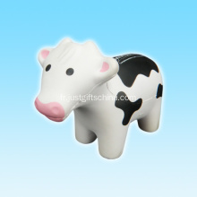 PU promotionnel vache forme balle anti-stress