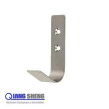 Display Small U Shape Wall Flat Metal Hook for Hangers
