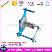 Máquina manual de envoltura de cinta para cinta PP PE