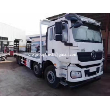 White Color 8X4 Shanqi Flat Bed Cargo Truck