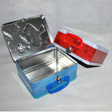 Handle Lunch Tin Box Packaging