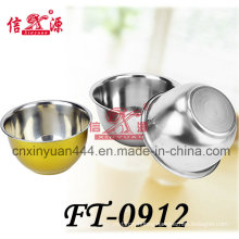 Stainless Steel Color Bowl (FT-0912)